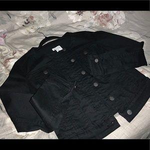 BRAND NEW! ELLE Collarless Denim Jacket